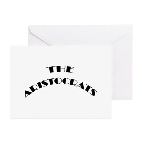 The Aristocrats Greeting Cards (Pk of 10)