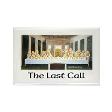 The Last Call-Rectangle Magnet