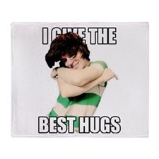 Best Hugs Throw Blanket