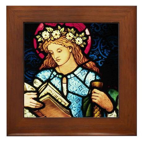 StCatherine Framed Tile