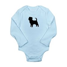 Affenpinscher Long Sleeve Infant Bodysuit