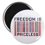 Freedom is Priceless America Magnet