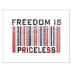 Freedom is Priceless America Small Poster