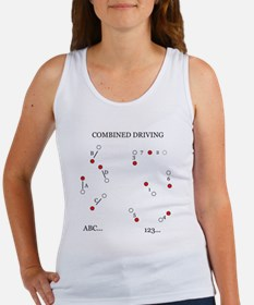 Combined Driving ABC, 123 Women's Tank Top