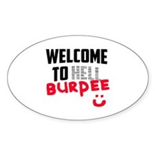 Welcome to Burpee Decal