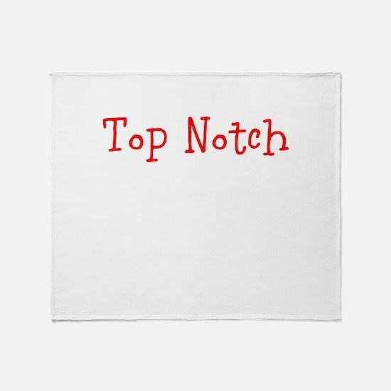 Top Notch Throw Blanket