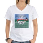 ACES Reunion 2012 Women's V-Neck T-Shirt