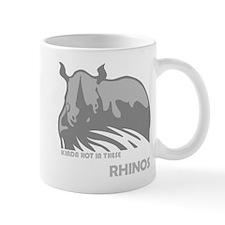Ace Ventura Rhinos Mug