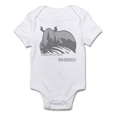 Ace Ventura Rhinos Infant Bodysuit