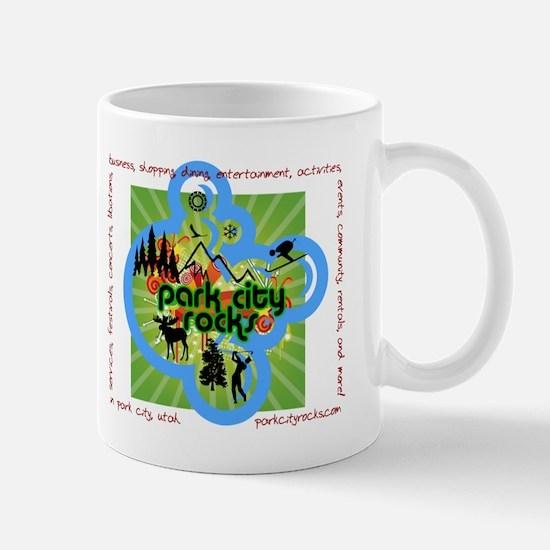 Park City Rocks Activity Logo Mug