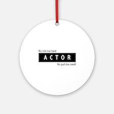 Actor Ornament (Round)