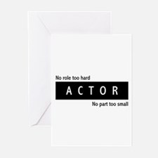 Actor Greeting Cards (Pk of 10)