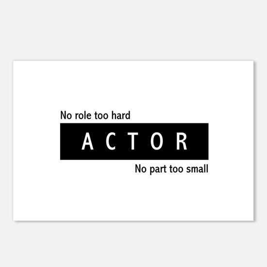 Actor Postcards (Package of 8)
