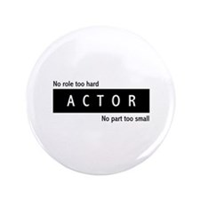 """Actor 3.5"""" Button (100 pack)"""