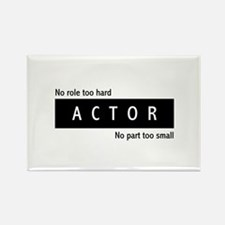 Actor Rectangle Magnet (100 pack)
