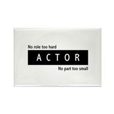 Actor Rectangle Magnet (10 pack)