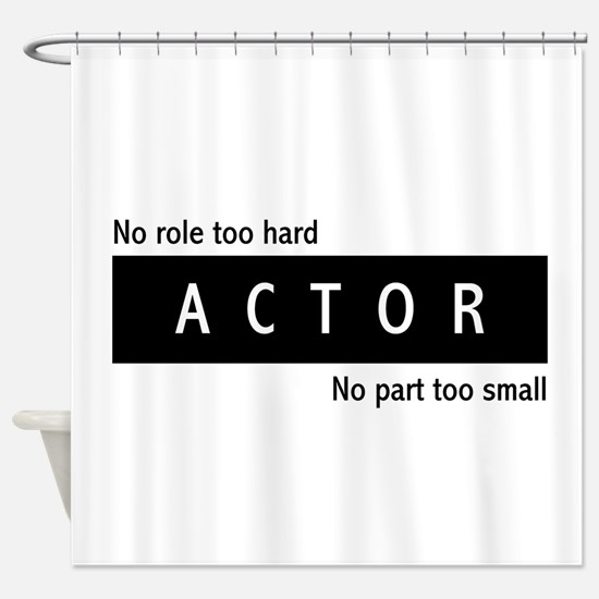 Actor Shower Curtain