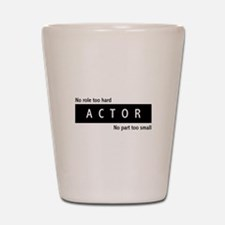 Actor Shot Glass