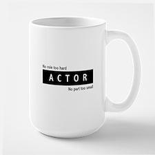 Actor Large Mug