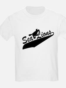 Sea Lions Baseball T-Shirt