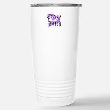 Crazy Bitch Travel Mug