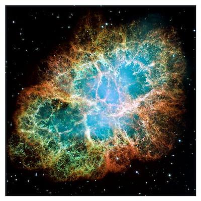 Crab nebula (M1) Poster