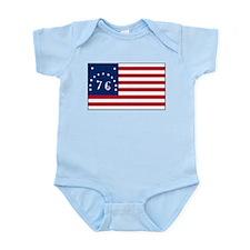 The Bennington Flag Shop Infant Creeper
