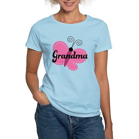 Grandma Gift Butterfly Women's Light T-Shirt