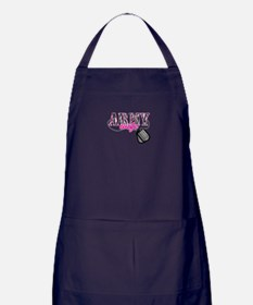Army Wife Apron (dark)