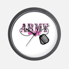 Army Wife Wall Clock
