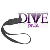Scuba diver Luggage Tags