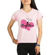 MomMom Grandma Butterfly Performance Dry T-Shirt