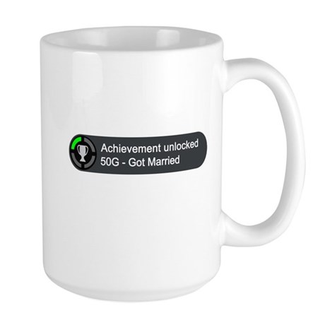 Got Married (Achievement) Large Mug