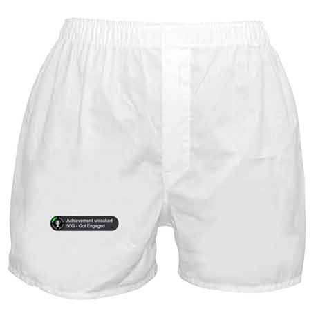 Got Engaged (Achievement) Boxer Shorts
