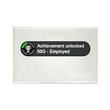 Employed (Achievement) Rectangle Magnet