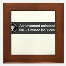 Dressed for Success (Achievement) Framed Tile