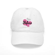 Nonna Grandma Butterfly Baseball Cap