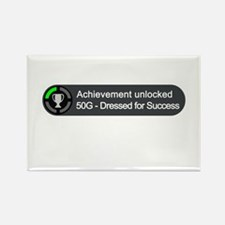 Dressed for Success (Achievement) Rectangle Magnet