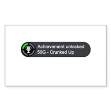 Crunked Up (Achievement) Decal
