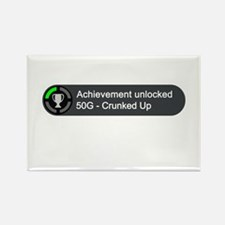 Crunked Up (Achievement) Rectangle Magnet