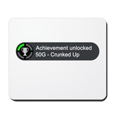 Crunked Up (Achievement) Mousepad
