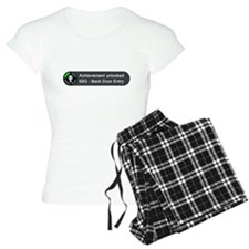 Backdoor Entry (Achievement) Pajamas