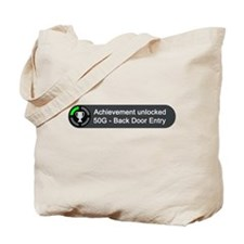 Backdoor Entry (Achievement) Tote Bag