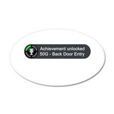 Backdoor Entry (Achievement) Wall Decal