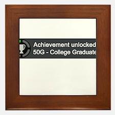 College Graduate (Achievement) Framed Tile