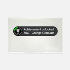 College Graduate (Achievement) Rectangle Magnet