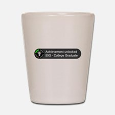 College Graduate (Achievement) Shot Glass