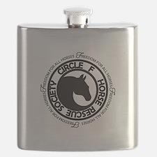 Freedom for All Horses Flask black logo