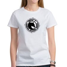 Freedom for All Horses Woman's T-Shirt black log