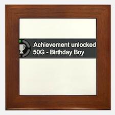 Birthday Boy (Achievement) Framed Tile
